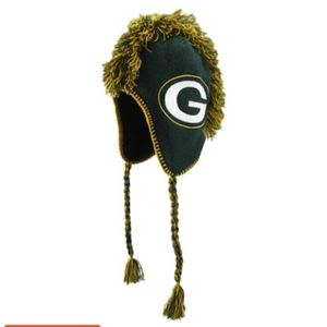 💕Green Bay Packers Knitted Mohawk Hat